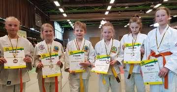 Junge Judoka holen Medaillen