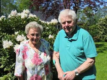 Erna und Heinz Gundlack feiern DiamantHochzeit