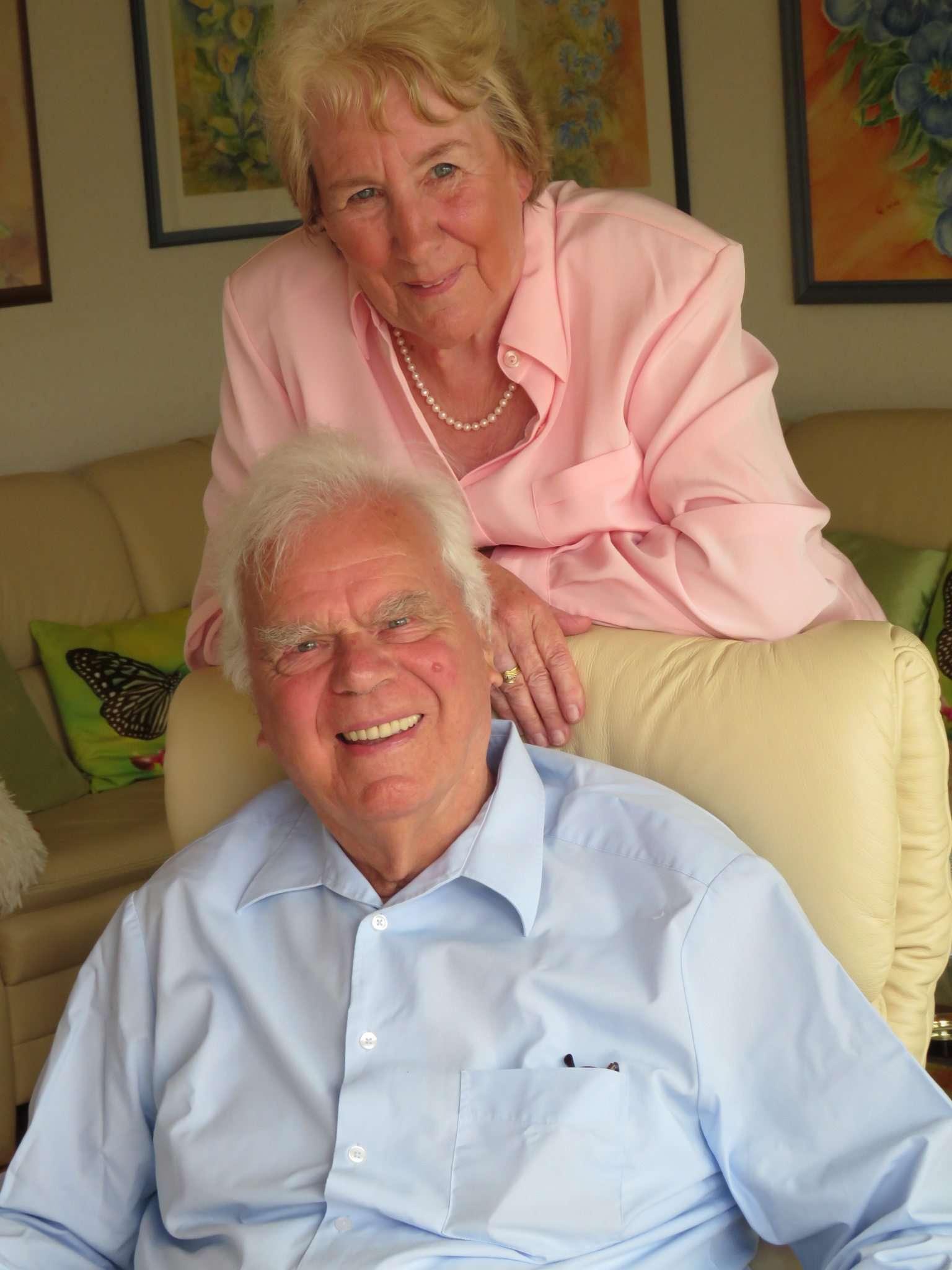 Cathrin und Karlbertus Janssen begehen 60-jähriges Ehejubiläum. Foto: Elke Keppler-Rosenau