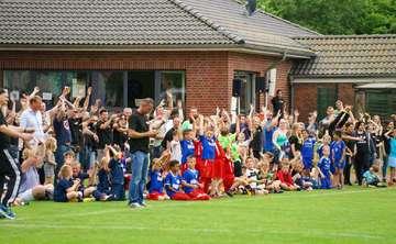 Am 24 Juni großes U10Fußballturnier beim TSV Bassen