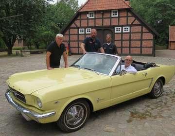 Oldtimer Classics aus Bremen stoppen in Oyten und Posthausen