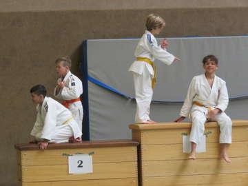 Viele Aktive dabei Judoabteilung des TSV Bassen feiern 40 Geburtstag  Von Elke KepplerRosenau