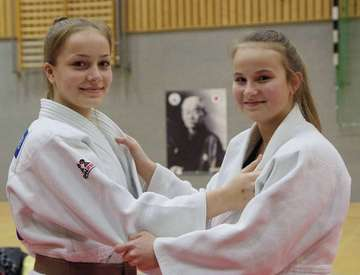 Chantal Rafalski und Karina Gappel holen Meistertitel