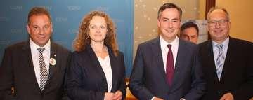 David Mc Allister spricht für Europa und unterstützt Sandra Röse