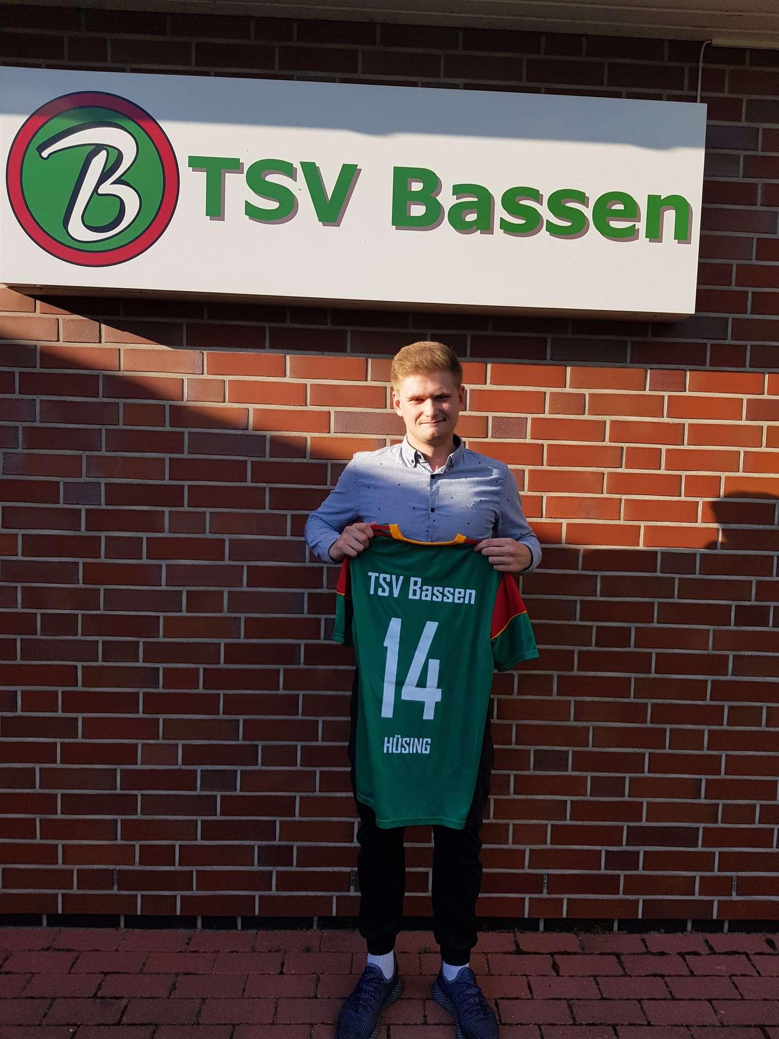 Marvin Hüsing wechselt zum TSV Bassen und wird dort die Erste Herren verstärken.