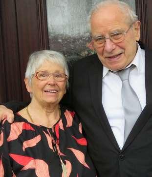 Brünhilde und Oswald Seyl heirateten heute vor 60 Jahren