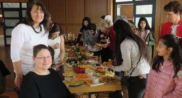 Frühstück zum Weltfrauentag im Rathaus