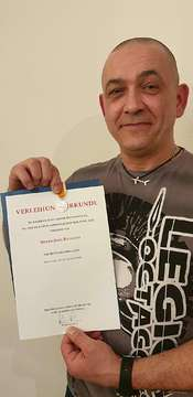 Nach Tauchunfall Oytener Jörg Rafalski mit Medaille geehrt