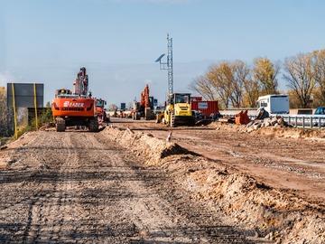 Bauarbeiten vom 21 September bis 15 Oktober  Abfahrt Oyten dicht