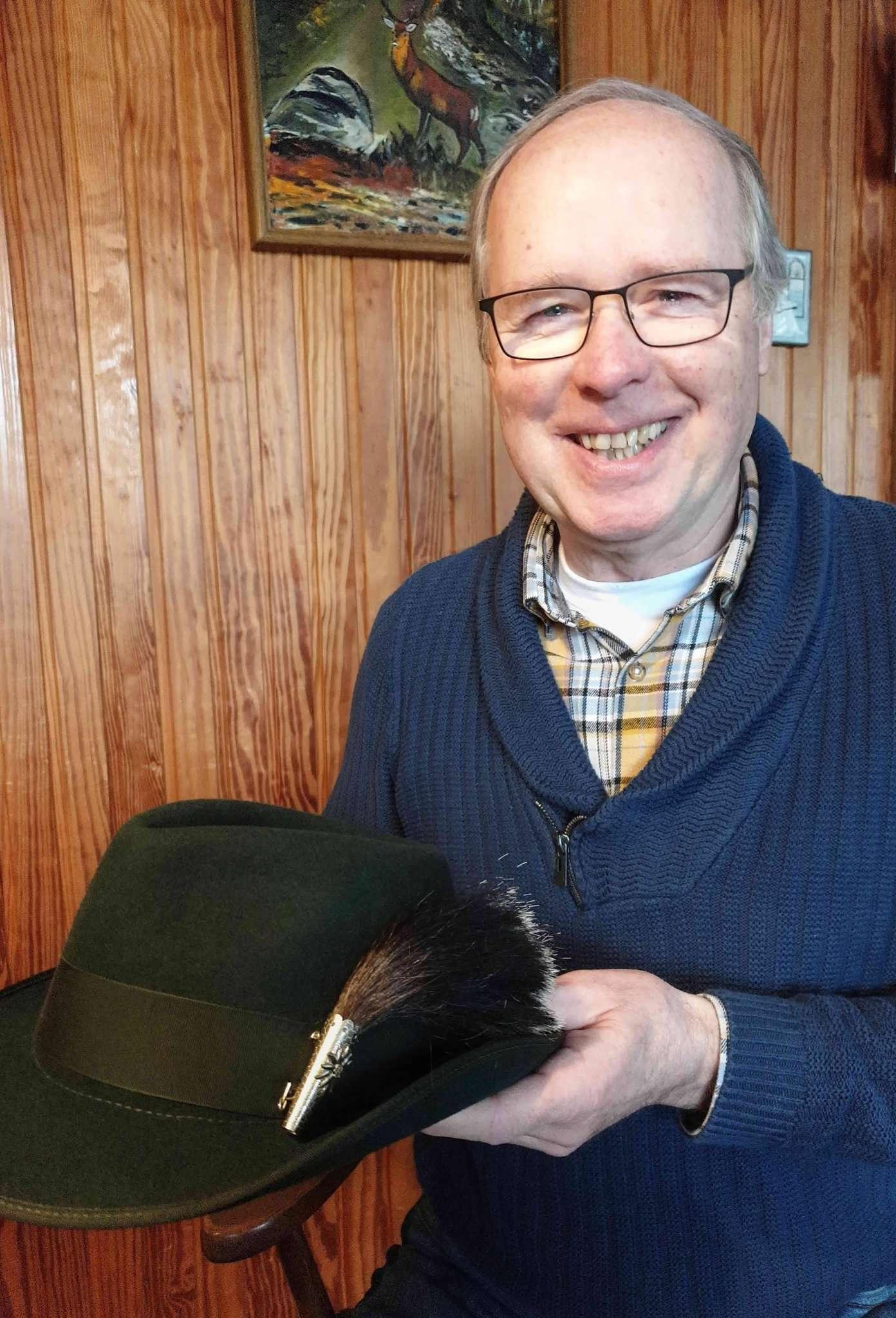 SSG-Vorsitzender Johann Bollmann hofft, bald wieder einen Anlass zu haben, seinen Schützenhut tu tragen. Foto: Tobias Woelki