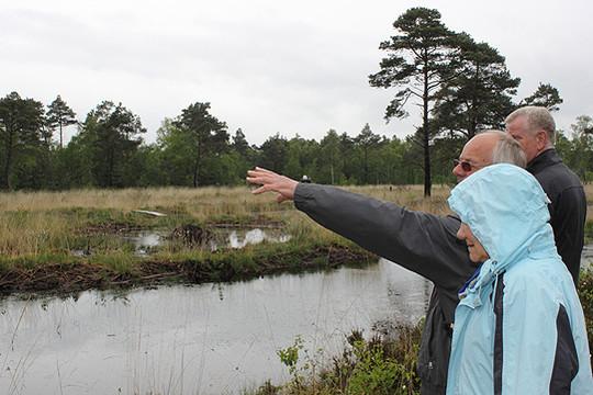 Viel zu sehen und zu zeigen gibt es im Tister Bauernmoor        Fotos: Königsmann