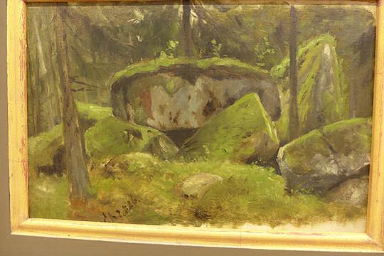 Otto Modersohn, Felssteine bei Schierke, 1886