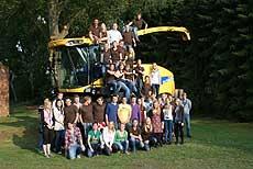Die Dorfjugend Westeresch will den Beweis antreten, dass sich Maisfelder auch als Party-Locations anbieten
