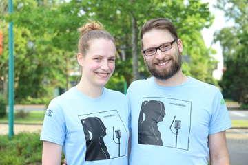 Antonia Cordes 17 Jahre und Sascha Masemann 40 veröffentlichen Podcast über ihre Liebe  Von Dennis Bartz