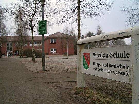 Die Wiedau-Schule bleibt Haupt- und Realschule u2013 zumindest vorerst         Foto: Archiv