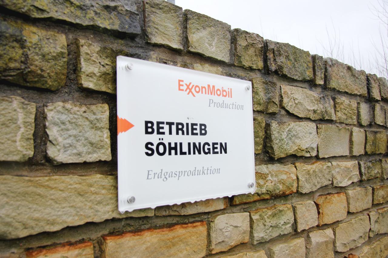 Der Bau einer Reststoffbehandlungsanlage auf dem Exxon-Mobil-Gelände in Söhlingen ist vorerst gestoppt. Archivfoto: Nina Baucke