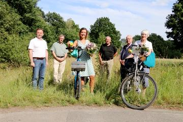 Radwegprojekt bekommt einen Namen  Von Nina Baucke