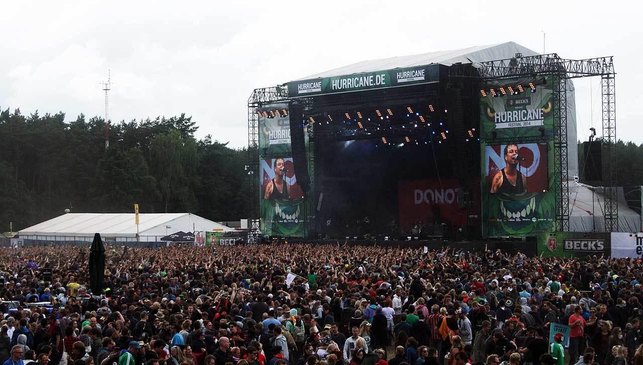 Wie in den vergangenen Jahren hat auch 2015 das Hurricane in Scheeßel bei zahlreichen Festival-Fans aus ganz Europa einen festen Platz im Kalender.