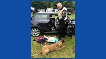 Polizei kontrolliert Autofahrer bei HurricaneAnfahrt