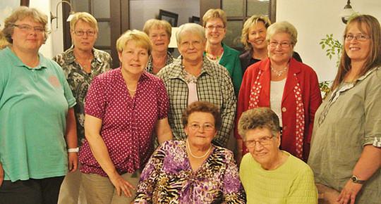 Im Bild Mitglieder der Selbsthilfegruppe Frauen und Krebs Posthausen