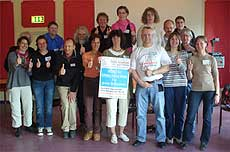 Aus Aurich, Cuxhaven, Oldenburg, Hannover, Peine und Göttingen waren Teilnehmer zur Landesnetzwerktagung angereist