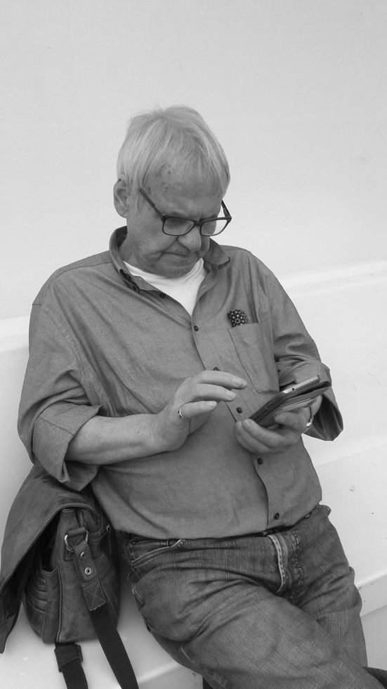 Helmut Pohlmann ist tot.    Foto: Angelika Pohlmann