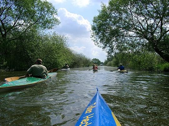 Bootstouren auf den Flüssen des Landkreises werden durch eine neue Verordnung reglementiert       Foto: Archiv