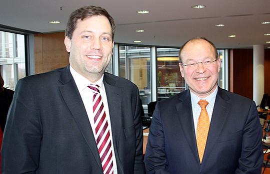 Lars Klingbeil und Lex Hartmann
