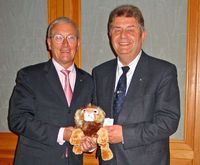 Präsidentschaftsübergabe Hans-Hinrich Bruns und Rolf Damke