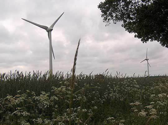 Wie kann der Landkreis das Klima schützen u2013 durch mehr regenerative Energie? Das soll ein Klimaschutzkonzept zeigen        Foto: Archiv