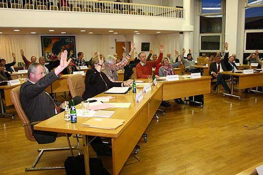 Im Rotenburger Rat wurde über die Elternbefragung abgestimmt, die der Landkreis durchführen soll       Foto: Woyke
