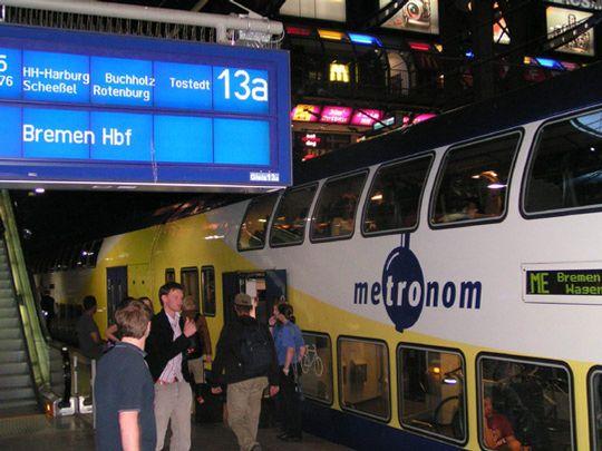 Günstig mit dem Zug vom Hamburger Hauptbahnhof nach Scheeßel fahren? Mit dem HVV-Tarif wäre das möglich          Foto: Archiv