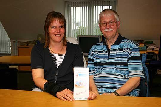 Appellieren an die Eltern, an der IGS-Umfrage teilzunehmen und für Rotenburg zu votieren: Marje Grafe und Hans-Kristian Koch   Foto: Woyke