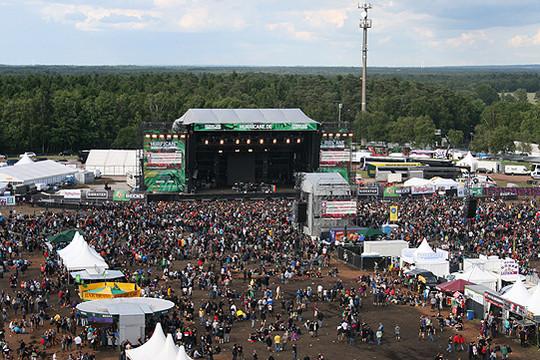 Auf der großen Green Stage zu stehen ist auch für bekannte Musiker ein besonderes Erlebnis    Foto: Archiv