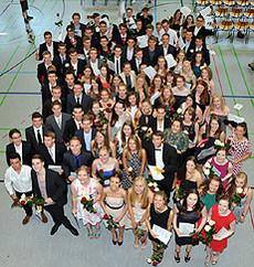 90 Schüler der Eichenschule schafften in diesem Jahr ihr Abitur