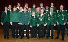 Der neue Vorstand des Wittkopsbosteler Schützenvereins        Foto: Plage