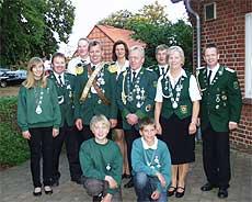 Wer die neuen Würdenträger der Bruchdörfer-Schützen sein werden, wird auf dem Jubiläums-Schützenfest in Wittkopsbostel ermittelt Foto: Archiv