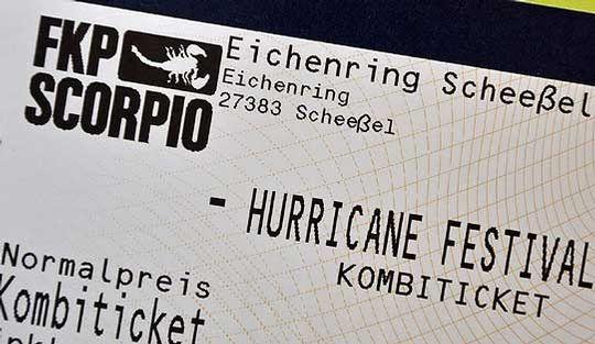Begehrt: Hurricane-Tickets sind längst ausverkauft