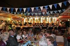 Das Blasorchesters Sittensen sorgt auf seinem Oktoberfest für beste Stimmung