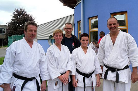 Fünf Karateka aus Sottrum nahmen an einem Lehrgang in Tauberbischofsheim teil