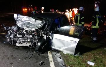 B75: Ein Toter und eine Schwerverletzte