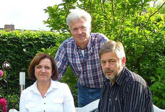 Bürgermeisterin Christa Kirchhof, ihr Stellvertreter Lühr Klee (rechts) und Fraktionsvorsitzender der SPD, Dr. Torsten Lohmann, sind zufrieden mit dem Haushalt, der jetzt vom Rat verabschiedet wird