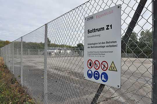 Die Versenkbohrstelle Sottrum Z1 sorge während der jüngsten Sitzung des Hassendorfer Gemeinderates für jede Menge Unmut        Foto: Haselmeyer