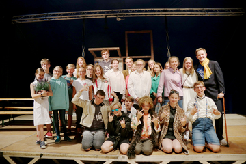 Kinder machen Theater  noch bis Samstag im Metronom  Von Nina Baucke