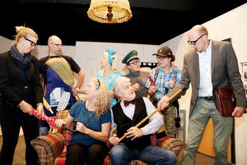 Theatergruppe des Plattdütschen Vereens probt neues Stück  Von Nina Baucke