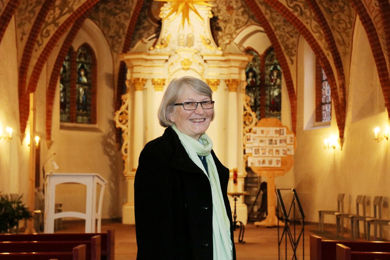 Pastorin Karin Klement verlässt Ende Dezember nach zwölf Jahren Visselhövede. Foto: Nina Baucke