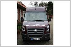 Der Bürgerbus hat sich in Visselhövede inzwischen etabliert           Foto: Archiv