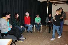 Die Siebtklässler der Realschule Visselhövede nahmen an einem Drogenpräventionsprojekt teil       Foto: Hartmann