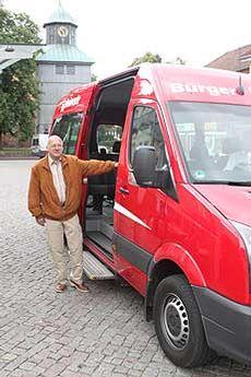 Lothar Rauchfuß kümmert sich für den Bürgerbusverein um das Payback-System  Foto: Hartmann