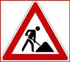 Kanalbauarbeiten in der Großen Straße
